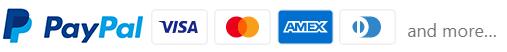 PayPal-VISA-Mastercart-AMEX