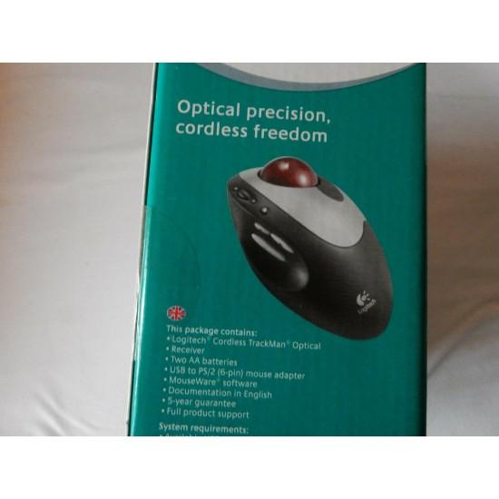 & Logitech Cordless Trackman Optical International