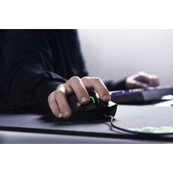 [From Japan] Razer DeathAdder Elite Ergonomic Gaming Mouse RZ01-02010100-