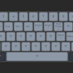 KBDfans Full Custom Keyboard Hot Swap Tofu 60% 5° Banana Split DSA Astrolokeys