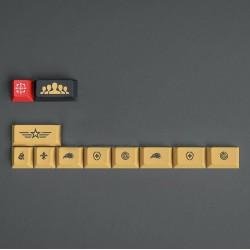 GMK Spirit Base + Novelties Kit Keycaps