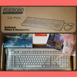 New Old Stock SUN Keyboard & Mouse Type 5c SparcStation Vintage Computer Foxboro