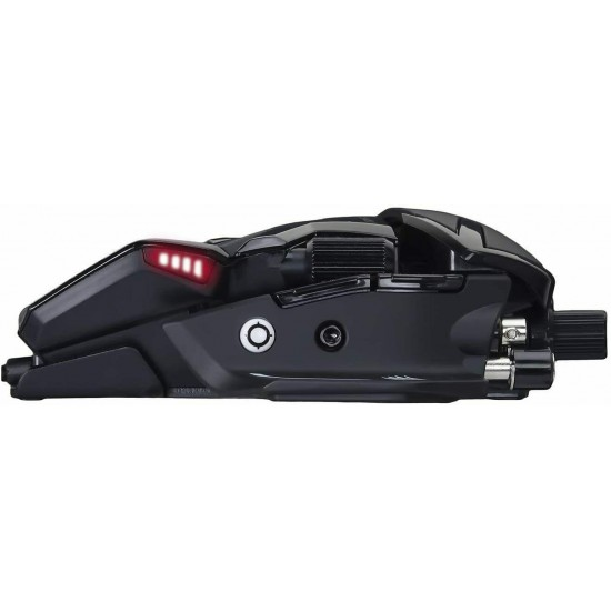 [From Japan] Mad Catz R.A.T.8 Plus Wired Gaming Mouse For FPS MR05DCINBL000-